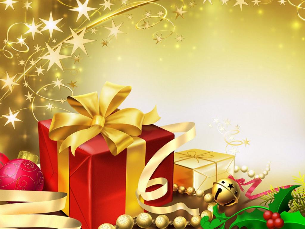čestitke besplatne Zlatni Bozicni darovi download besplatne slike pozadine cestitke  čestitke besplatne